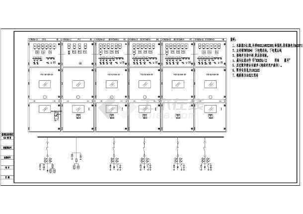 kyn28中置柜一次和二次接线图