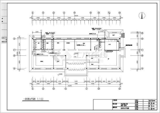 库区营房水暖设计施工图