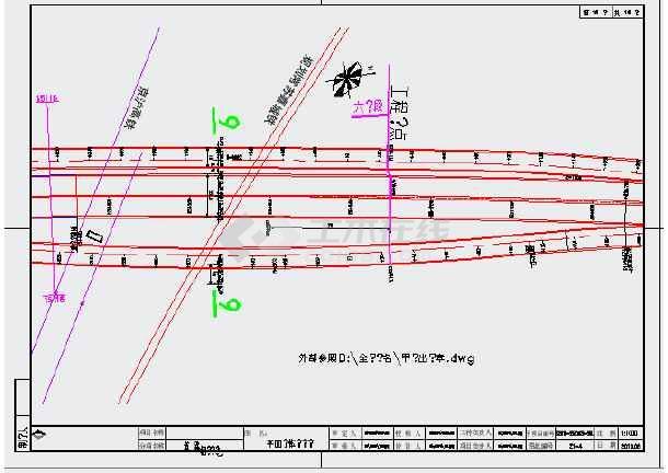匝道纵断面设计图12 标准横断面图15 超高设计图2 路基工程数量表2 一