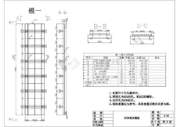 1.5米方型钢模图纸cad桥墩cad铺装快捷键图片