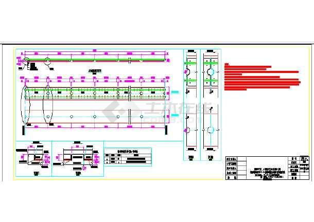 铁路隧道crtsi型减振型板式无砟轨道平纵断面布置图54图片