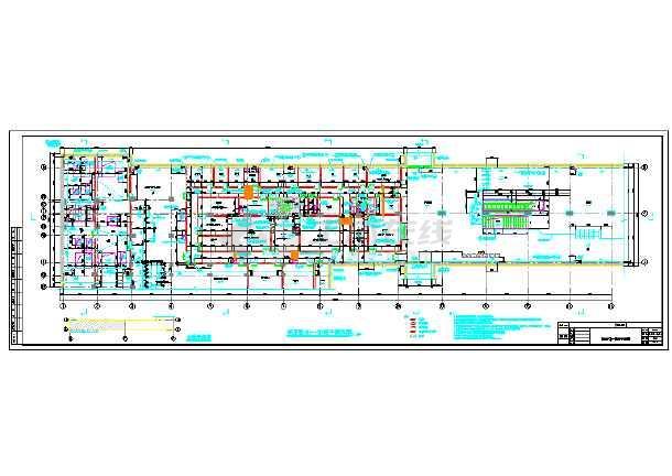 [江苏]10972平方米地下两层岛式站台地铁车站施工图60
