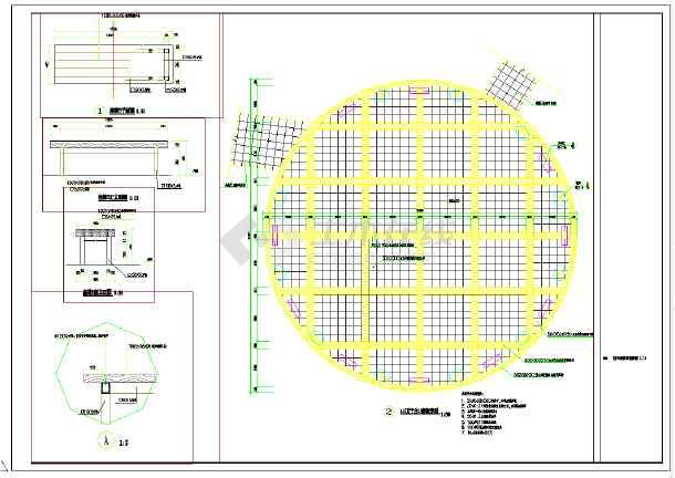 空中步廊全套施工图,图纸包括:空中步廊总平面图,空中步廊a段立面图