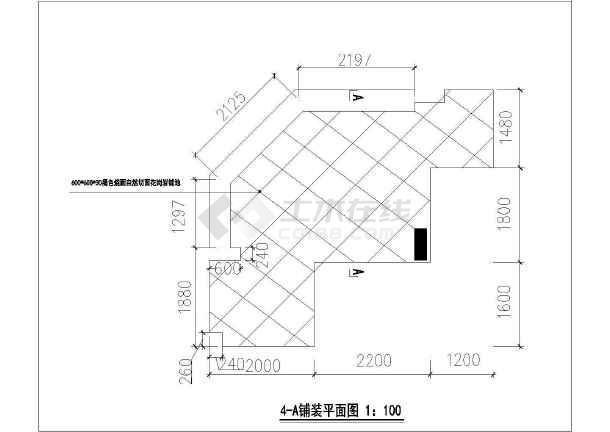 架空平�_架空层铺装结构图包括平立剖及做法图.