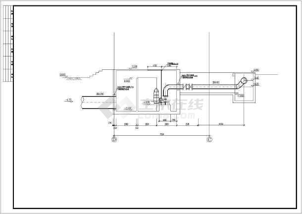 某自来水厂V型滤池图纸施工图的全套认识图片