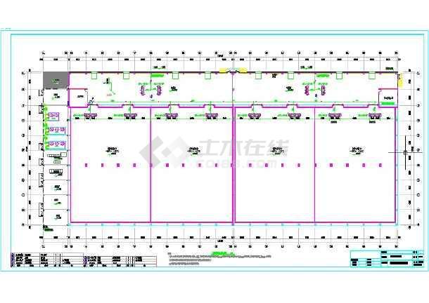 大型物流冷库制冷系统图纸图片
