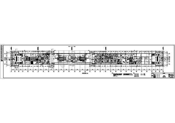[黑]地铁明挖地下二层双跨岛式站台车站初步设计图,105张