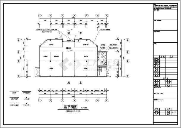 图纸二层图纸框架自转中心建筑设计垃圾(建筑分拣旋翼机v图纸结构图片