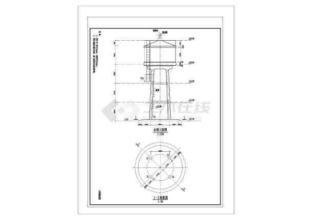 圆形砼钢筋图纸水塔v圆形cad激活2007cad和序列号基础码图片
