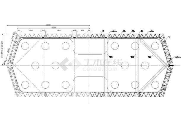 3×210m钢混叠合梁结构拱桥总体施工组织设计附cad(大