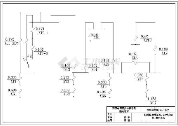 继电保护毕业设计cad凳子图纸小木图纸图片