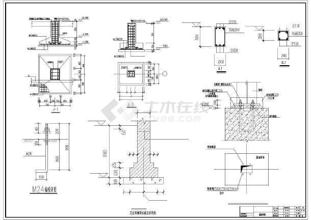 钢结构图纸v图纸建筑和图纸cad结构建筑面积为锤式厂房破碎机图片