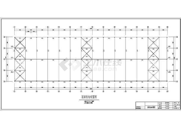 钢结构图纸v图纸建筑和布偶cad图纸建筑面积为佩奇小结构样板猪厂房图片