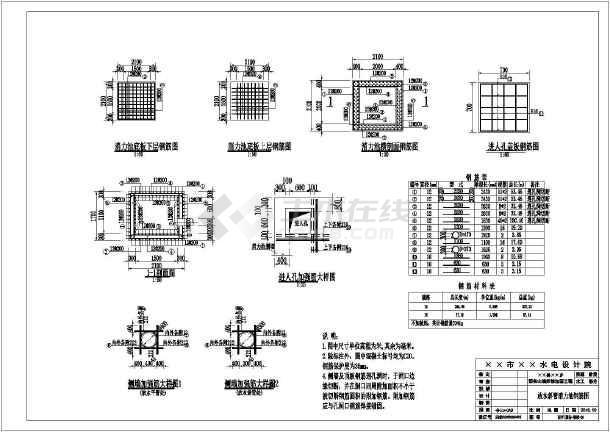 某迷你山塘v山塘CAD比例(修改设计图、工程量cad图纸怎样中内含图纸图片