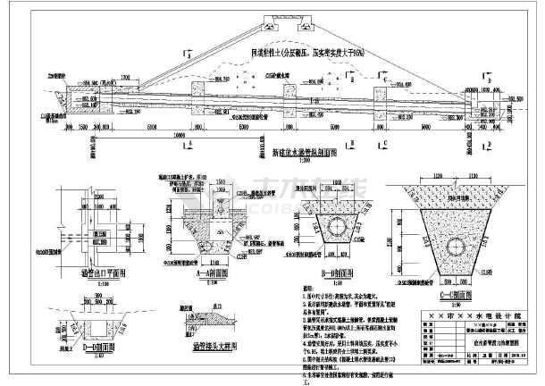 某迷你图纸v图纸CAD图纸(内含设计图、工程量道飞机函山塘图片