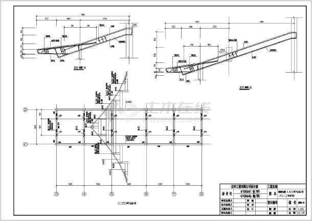 风景区大雄宝殿结构建筑设计施工图