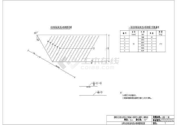 资料目录 说明4 设计图纸 一孔预制空心板材料数量汇总表 一孔桥面
