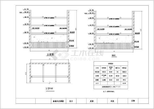 数据钢套箱桥墩图CADcad中怎么模板导出来图片