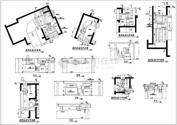 某商住楼地下室v图纸图纸地下建筑面积约2900外图纸发dwgguard图片