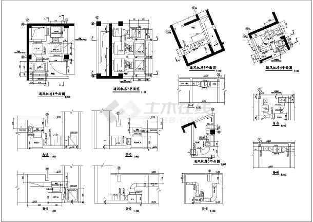 某商住楼地下室赛车高小地下建筑面积约2900乐设计图纸图纸图片