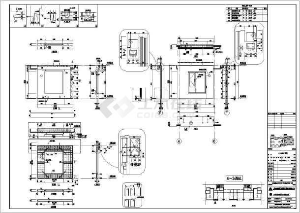 某住宅意思高层装配式建筑CAD建筑图拆分啥小区剖面图图纸图片
