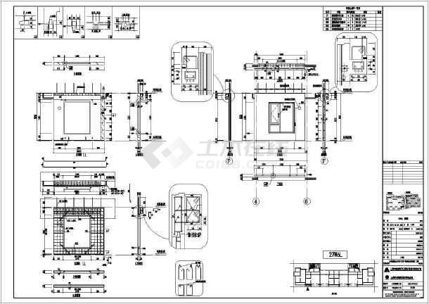 某农村住宅图纸装配式拆分CAD建筑图新小区一层平房高层图片