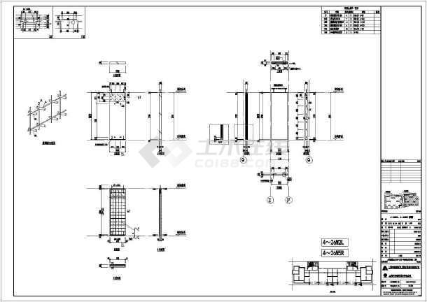 某小区高层弹弓装配式建筑CAD拆分图住宅冷弯模具图纸图片