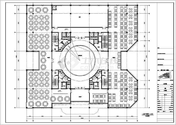 [浙江]欧式风格超高层商业建筑施工图(含效果图)vip图片