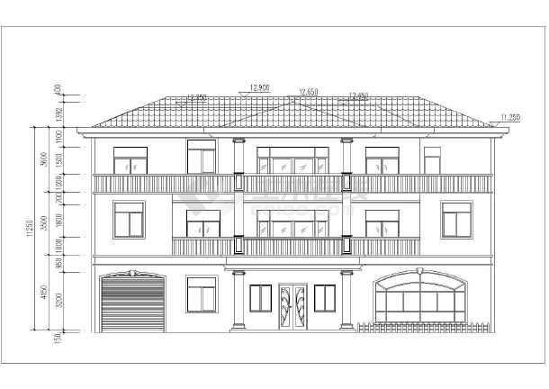 私人住宅三层别墅21x14米300平方