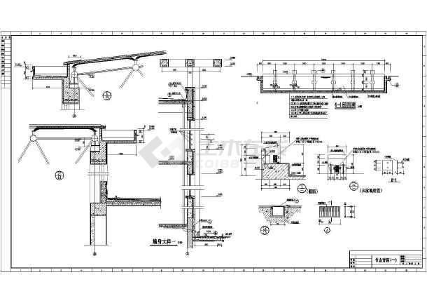 体育馆建筑图纸设计施工CAD房产浦桥锦园全套图纸图片