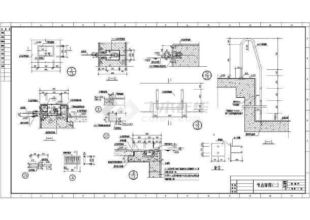 体育馆建筑魔法施工设计CAD全套图纸图纸激荡图片