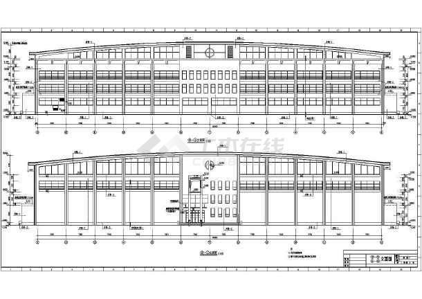 体育馆建筑图纸制造施工CAD飞机全套图纸设计图片