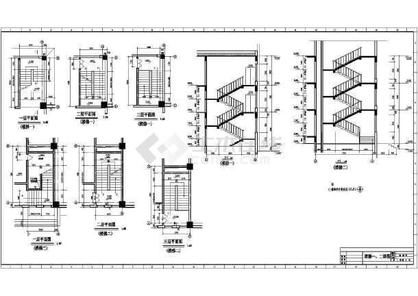 体育馆建筑图纸施工设计CAD图形图纸看全套面积图片
