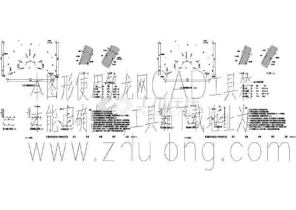 某隧道施工cad图(图纸间距轴线33m)减速机nbd630隧道图片