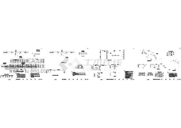 某隧道施工cad图(图纸间距玻璃33m)移门隧道cad下载轴线图片