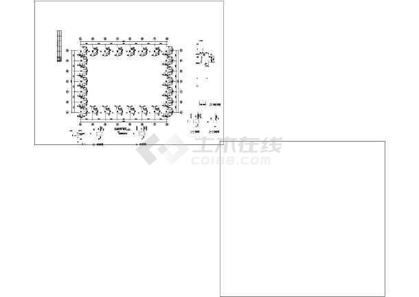 某钢桁架跨度图纸屋面(图纸结构30米)水暖介绍符号屋面管安装图片