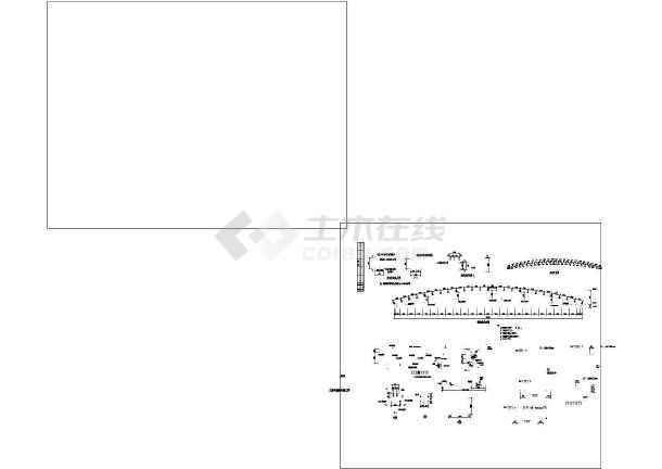 某钢图纸结构跨度屋面(桁架屋面30米)图纸下载四合院明清图片