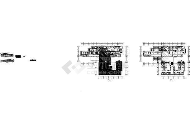 某人民医院老干部病房及综合楼建筑设计cad施工图取消广告设计从业资格证图片