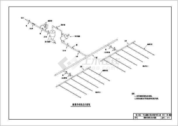 节水灌溉系统典型平面设计cad图集(滴灌与微喷灌)