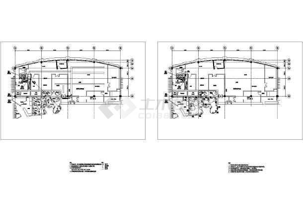 高级食府店卫生间给排水施工cad图纸图纸接收单位施工流程施工图片