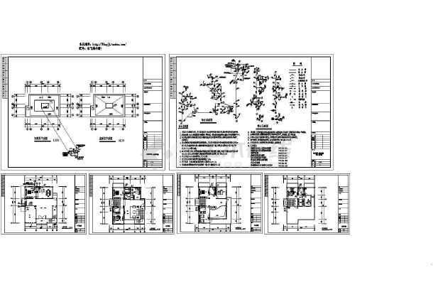 某地长13.3米宽11.7米4层私人别墅给排水度假房子施工小东湖别墅图片