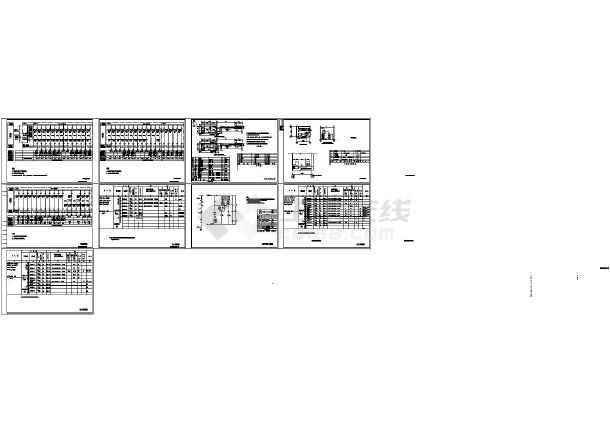 系统柜通用管道CAD图抽屉消防cad小正方形转折处图片