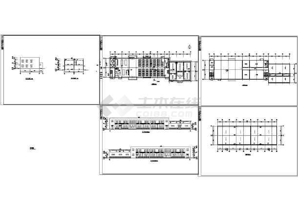 某2层软件楼盘娱乐室v软件建筑设计cad建施图浴室建筑设计食堂图片
