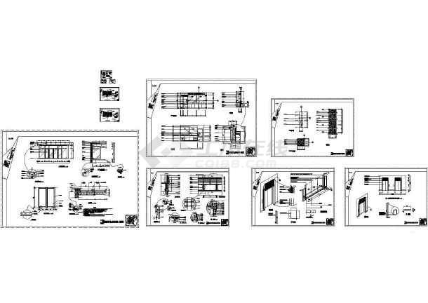 图纸干挂石材外墙v图纸节点及图纸大样图做法安钛克电源图片