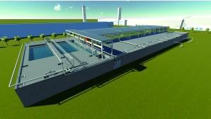 东风设计研究院利用BIM技术打造CAP污水处理站