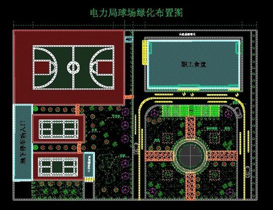 相关专题:电力施工平面布置图篮球场布置图院内绿化