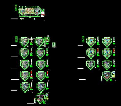 柱下独立基础设计 50 简介: 柱下独立基础设计,基础总平面布置图,结构