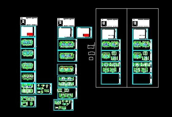 别墅建筑 5层框架住宅楼施工图 类别: 住宅建筑 三层带露台别墅施工