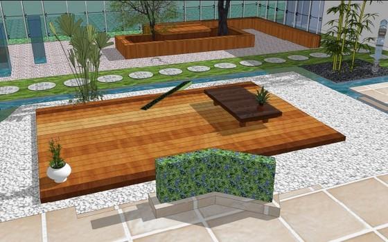 庭院景观别墅庭院景观庭院景观cad图庭院景观快题设计中式别墅庭院