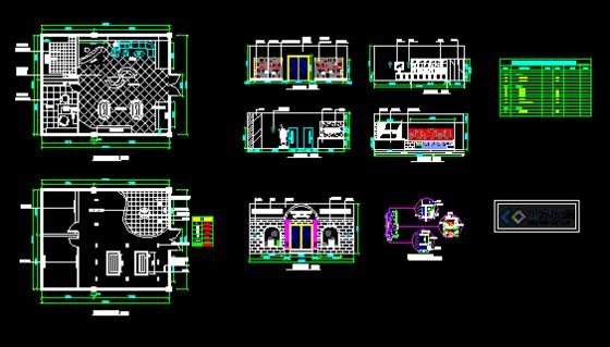 葡萄酒店设计图,平面图,立面图,剖面图,设计说明